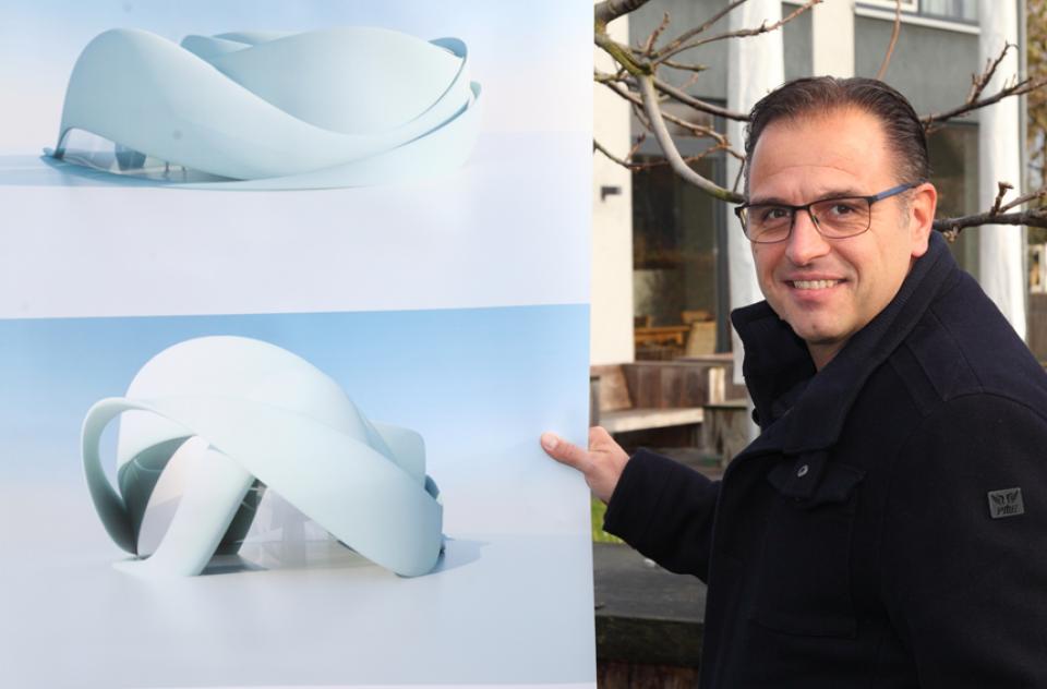 Eerste 3D-geprinte gebouw met zero footprint in Europa